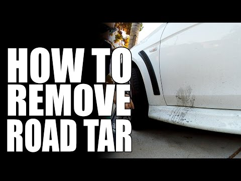 How To Remove Road Tar | Masterson's Car Care | Detailing Tips & Tricks
