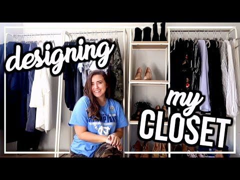 MOVE WITH ME: Designing My Closet Room! | Ep. 3