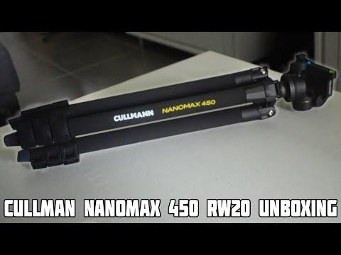 Cullman 450 RW20 Tripod Unboxing! Budget Tripod Cullman Nanomax 450 RW20!