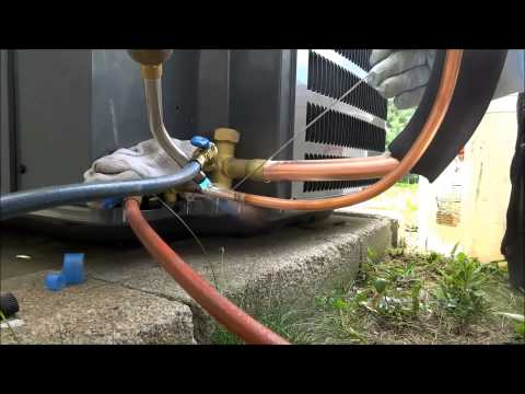 hvac : air conditioning change out from start to finish