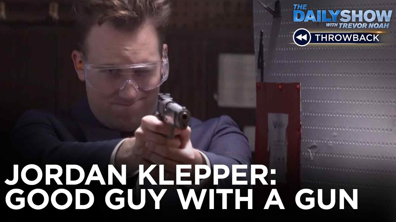 "Jordan Klepper Debunks The ""Good Guy with a Gun"" Argument 