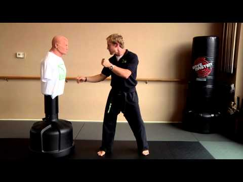 AUGUST Karate Tip Week #2 - Sparring Technique: Axe Kick