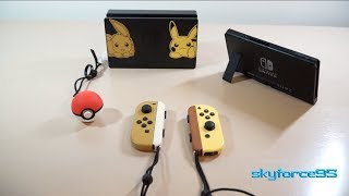 Limited Edition Let's Go Pikachu/Eevee Nintendo Switch Overview