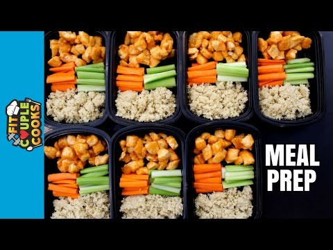 How to Meal Prep - Ep. 21 - BUFFALO CHICKEN