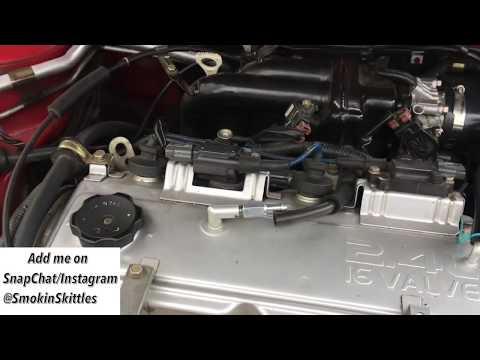 How to Diagnose a Faulty PCV Valve 3G Eclipse (2002)