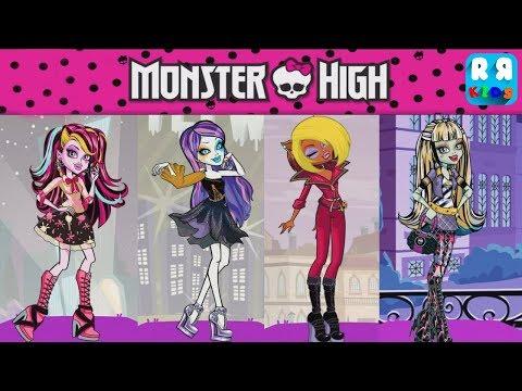 Monster High Budge World Games - Dress Up Dreams