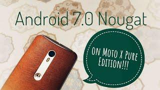 Moto x pure edition update vidozee download and watch youtube videos official android 70 nougat on moto x pu 4 months ago ccuart Gallery