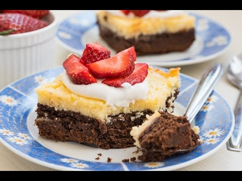 Cheesecake Brownies -  Delicious Layers Of Fudgy Brownie & Creamy Cheesecake