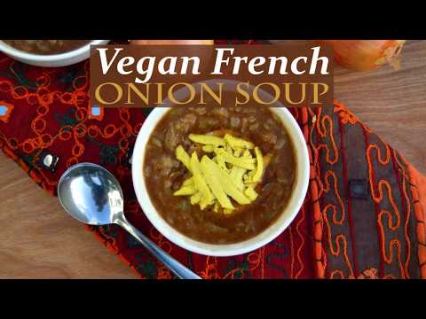 Vegan French Onion Miso Soup Recipe - Healthy, Plant Based and Easy to Make