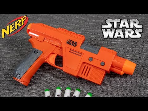 [REVIEW] Nerf Star Wars Poe Dameron Blaster | Unboxing, Review, & Firing Demo!