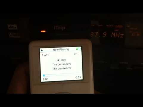 iPod Working with iTrip