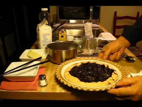 Cranberry Sauce Pie,,, easy homemade crust