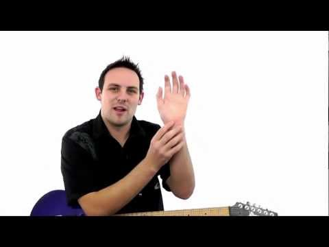Sore Wrist When Playing Barre Chords? Try This Out!