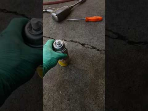 Cleaning aluminum rims with EASY OFF OVEN CLEANER