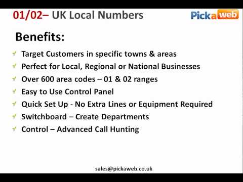 How to Get a  Local UK Telephone Number & Target Specific Towns