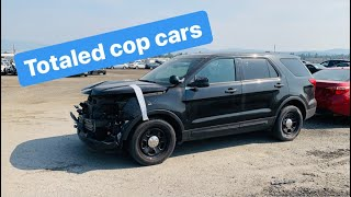 Wrecked Police Cars You Can Buy At An Auction
