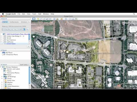 Learn Google Earth: Searching for Places