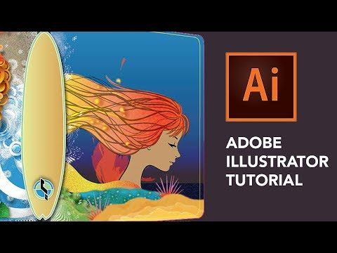Adobe Illustrator Tutorial — How To Convert A Drawing Into Vector Art