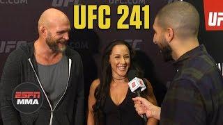 Jodie Esquibel, Keith Jardine hoping spirit of UFC 76 pays off again | UFC 241 | ESPN MMA