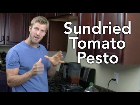 How to Make Sundried Tomato Pesto-Transform Your Kitchen-Episode #26