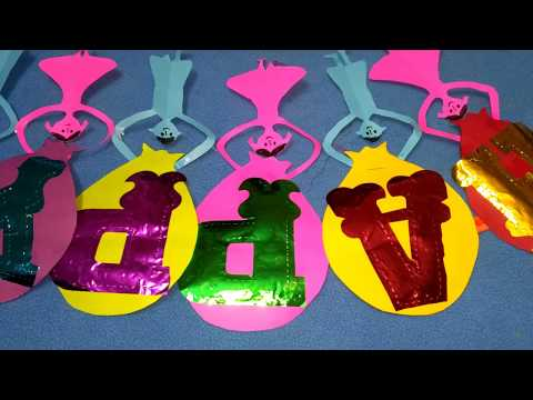 DIY Paper Crafts:How to make Birthday Banner at home for kids/Make your own birthday banner