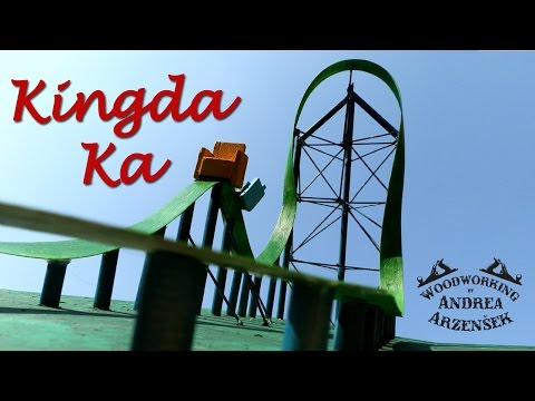 Kingda Ka (not to scale model roller coaster) - Ep 018