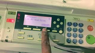 Ricoh Fax Error Codes