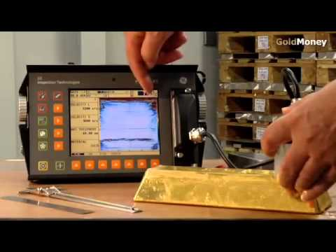 Fake Gold Bars   How to detect them using ultrasound testing