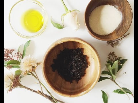 DIY FACE SCRUB - NATURAL HOME REMEDY FOR SKIN BRIGHTENING AND HYPERPIGMENTATION