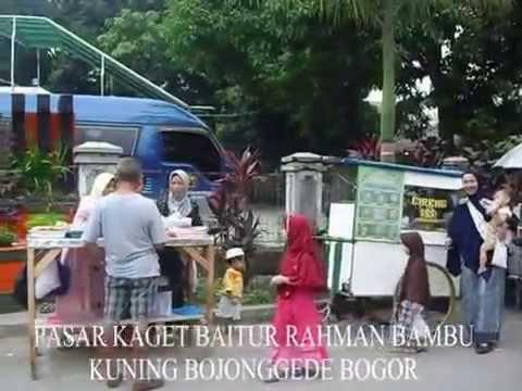 Pasar Kaget di Masjid Baiturrahman