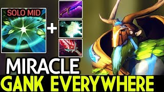 Download Miracle- [Natures Prophet] New Style Solo Mid Ganking Everywhere Pro Game 7.21 Dota 2 Video