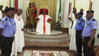 The Oba of Benin Penalized Nigerian Police for Violating the Tradition of the Land