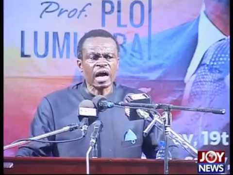Kenyan Law Professor, Prof. Patrick Lumumba