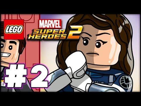 LEGO Marvel Superheroes 2 - GWENPOOL LEVEL 2 - SIMULATION - 100% Complete