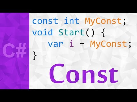 The Const Keyword In C# 💻 A Step By Step Tutorial On Constants With Examples
