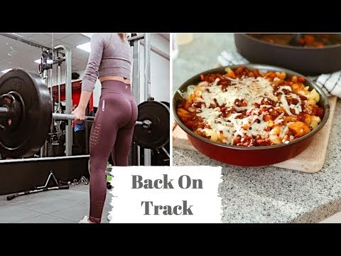 GETTING BACK ON TRACK // New recipes & leg workout