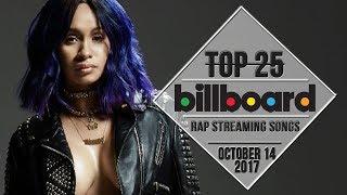 Top 25 • Billboard Rap Songs • October 14, 2017 | Streaming-Charts