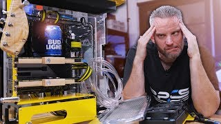 Post Malone PC Build Part 2: EVERYTHING IS GOING WRONG!