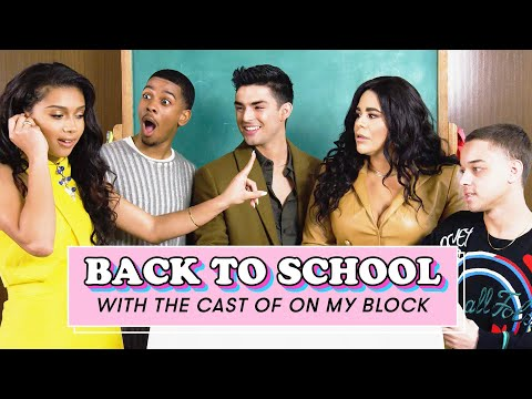 The Cast of On My Block Reveals Their Worst Dates, Texts Their Exes, and More | Back To School