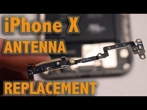 iPhone X Antenna Replacement