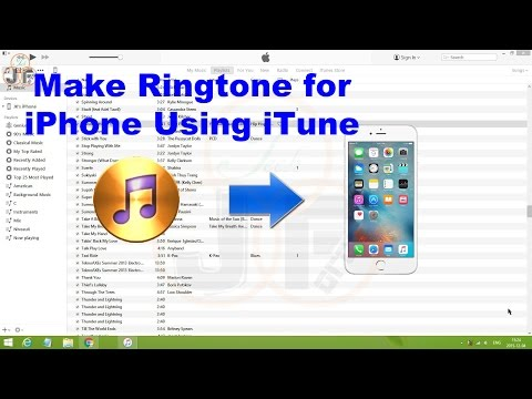 Ringtone Maker - How to Create Ringtone for iPhone Using iTune