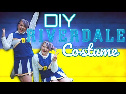 DIY RIVERDALE COSTUME! Betty Veronica Cheryl Cheerleader Uniform