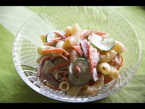 Macaroni Salad Recipe - Japanese Cooking 101