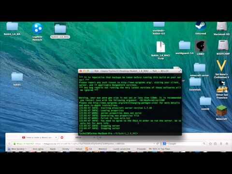 how to make a bukkit server 1.8 Mac