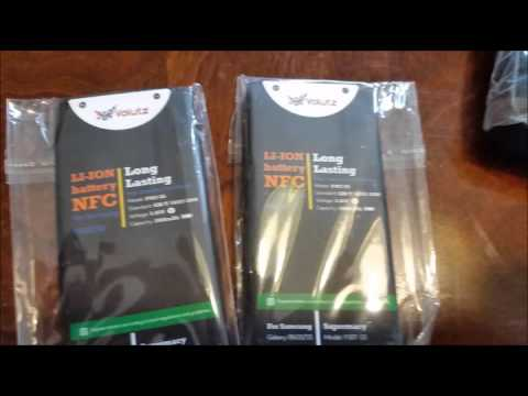 Excellent Samsung Galaxy S5 Battery Replacement Pack 2X 2800mAh Batteries
