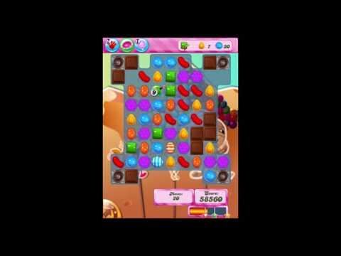 Candy Crush Saga Level 165 Walkthrough