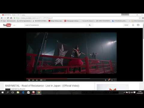 Speed Test Buffering Youtube 1080p HD :D