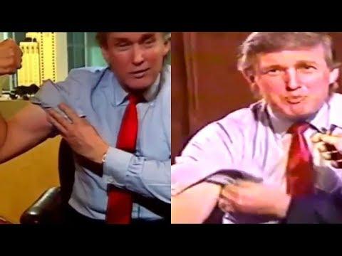 Donald Trump Flexing His Guns