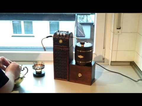 Steampunk Dampfdruck Kaffeemaschine.mp4