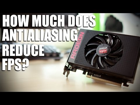 How much does Antialiasing affect performance?
